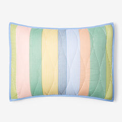 Coastal Stripe Sham, STRIPE MULTI