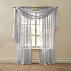 BH Studio Crushed Voile Scarf Valance,