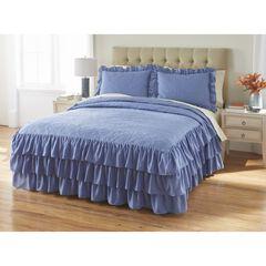 Jenny 3-Pc. Ruffle Flounce Bedspread,