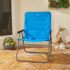 Comfort Folding Chair, BLUE