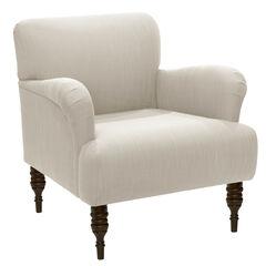 Norwood Chair, LINEN TALC