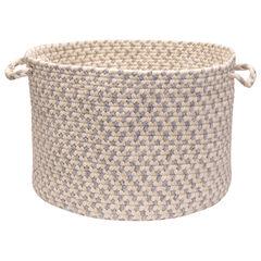 Stone Harbor Grey Stone Basket, GREY