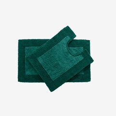 BH Studio 2-Pc. Bath Rug Set, DEEP GREEN