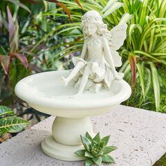 Fairy Birdbath, IVORY