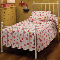 "Queen Bed with Bed Frame 83½ ""Lx61½ ""Wx48½ ""H,"