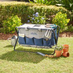 Folding Garden Tool, BLUE