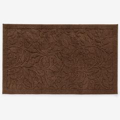 3' x 5' Foliage Rug, CHOCOLATE