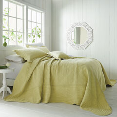 Florence Oversized Bedspread, PEAR