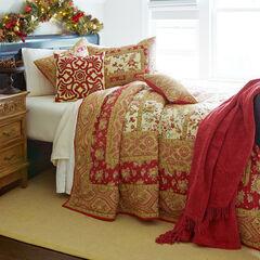 Josephine Bedspread, RED MULTI