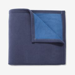 BH Studio® Reversible Fleece Blanket, BLUE