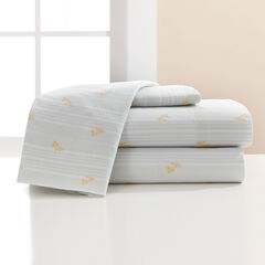 200-TC Percale Chic Stripe Sheet Set,