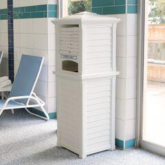 Lakeland Towel Valet, WHITE