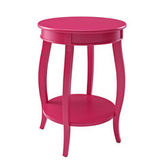 Round Table with Shelf,
