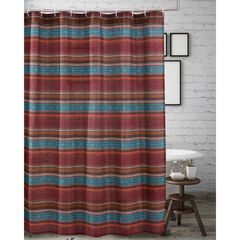 Tucson Coffee Shower Curtain by Barefoot Bungalow, COFFEE