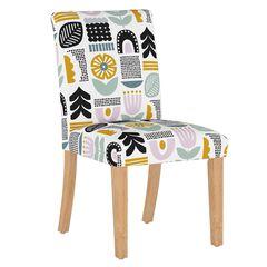 Helsinki Block Dining Chair, LAVENDER MULTI