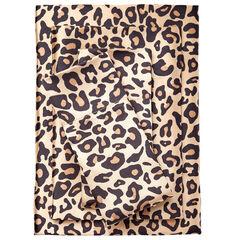 Satin Leopard Sheet Set,