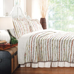 Bella Ruffle Quilt Set by Greenland Home Fashions,