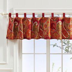 Tivoli Cinnamon Window Valance by Greenland Home Fashions, CINNAMON