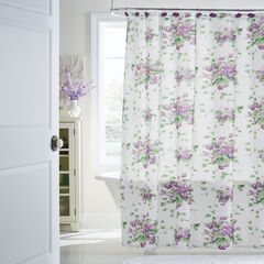 13-Pc. Waverly Floral Shower Curtain Set,