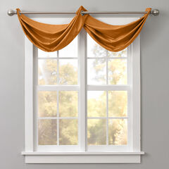 BH Studio Room-Darkening Waterfall Grommet Valance,