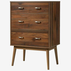 Montage Mid-Century 3 Drawer Chest,