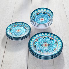 Blue Casab Dinnerware Set,