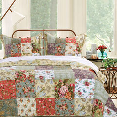 Blooming Prairie Quilt Set by Greenland Home Fashions,