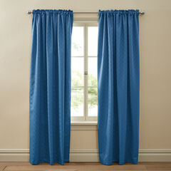 Diamond Thermal Rod-Pocket Curtain,