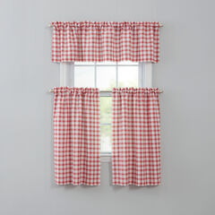 Country Check Tier Set, RED