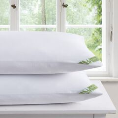 DreamLab CBD-Infused Pillowcase 2-Pack, WHITE
