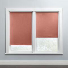 Cordless Push-Up Roller Blackout Shade, DUSTY ROSE