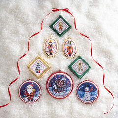 Vintage Ornaments, Set of 8, ASSORTED