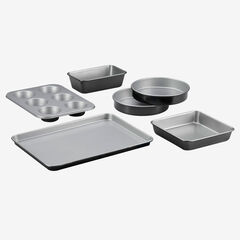 Cuisinart 6-Pc. Classic Bakeware Set, SILVER