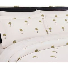 The Palm Standard Sham, CREAM GREEN