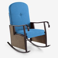 Outdoor Upholstered Rocking Chair, POOL