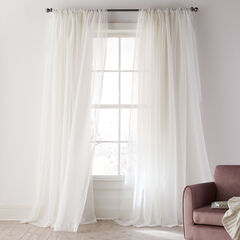 Ophelia Shimmer Curtain, IVORY