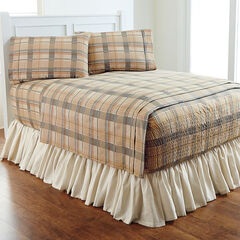 Bed Tite™ Flannel Sheet Set, NATURAL PLAID