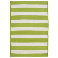 Bay Stripe Lime Rug,