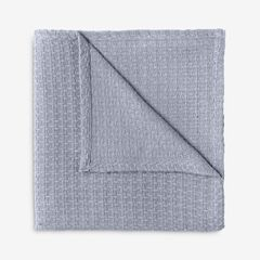 BH Studio Primrose Cotton Throw, SLATE