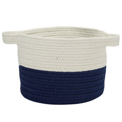 Raindrop Navy Basket, NAVY
