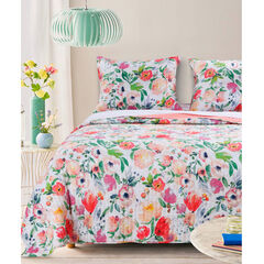 Blossom Quilt Set by Barefoot Bungalow, FLORAL