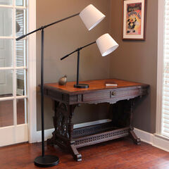 Chloe Adjustable Arm Table Lamp,