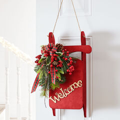 Decorative Welcome Sled,