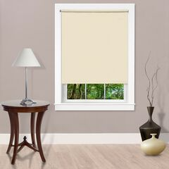 Cords Free Tear Down Room Darkening Window Shade, IVORY