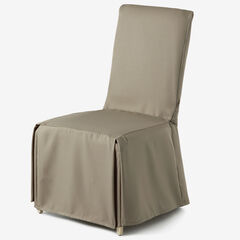 Metro Dining Room Chair Cover, TAUPE