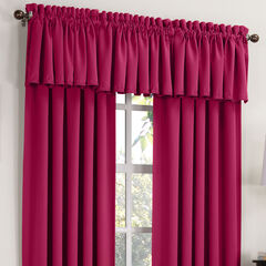 Madison Room Darkening Rod-Pocket Valance,