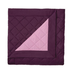 BH Studio Reversible Quilted Bedspread, PLUM DUSTY LAVENDER