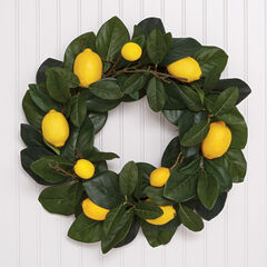 Lemon Wreath,