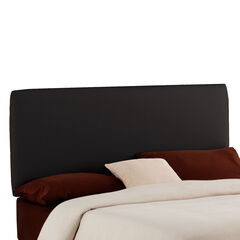 """Queen Size, 62""""Lx4""""Wx51-54""""H, BLACK"""