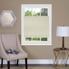 Top Down-Bottom Up Cordless Honeycomb Cellular Shade, ALABASTER